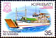 Kiribati ferry