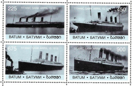 überlebende der titanic liste